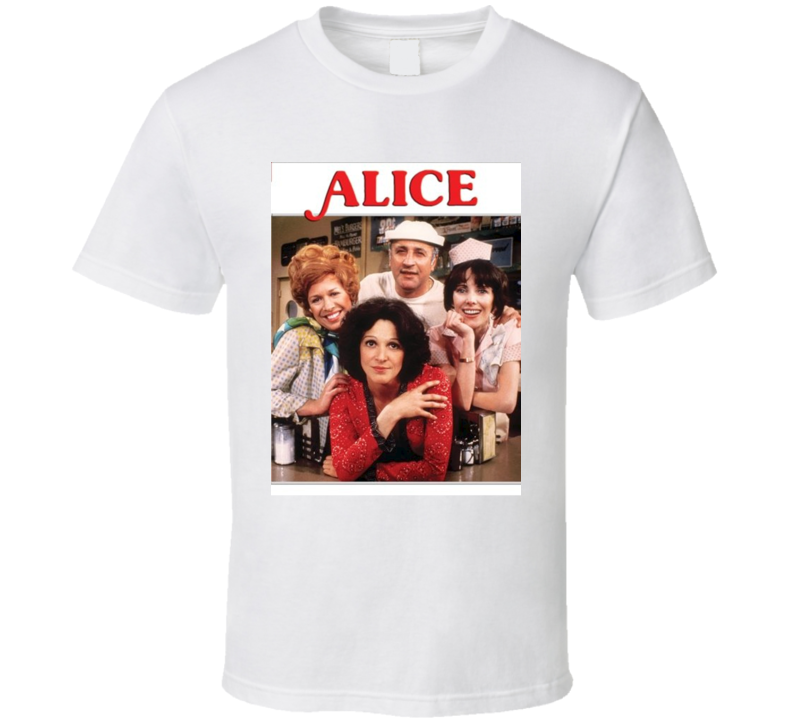 Alice Tee 70's Vintage TV Show Cool Retro Fan T Shirt