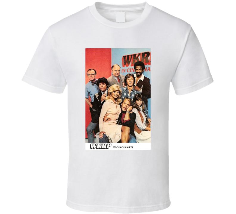 WKRP In Cincinnati Tee 70's Vintage TV Show Cool Retro Fan T Shirt