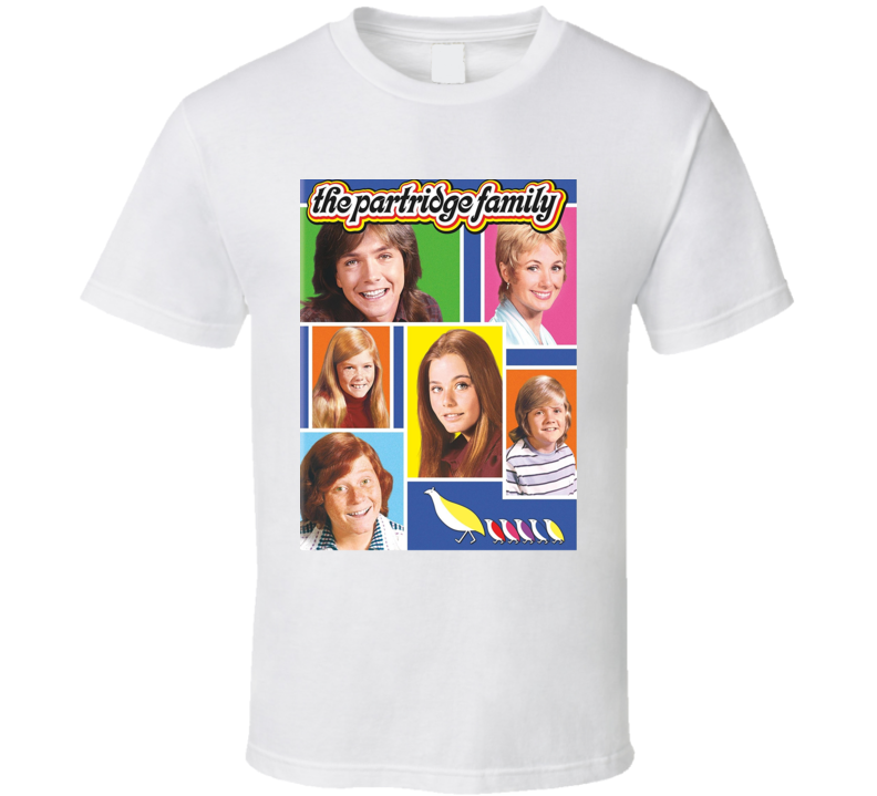 The Partridge Family Tee 70's Vintage TV Show Cool Retro Fan T Shirt