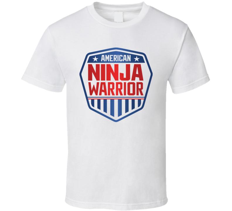American Ninja Warrior Tee TV Show Halloween Costume T Shirt