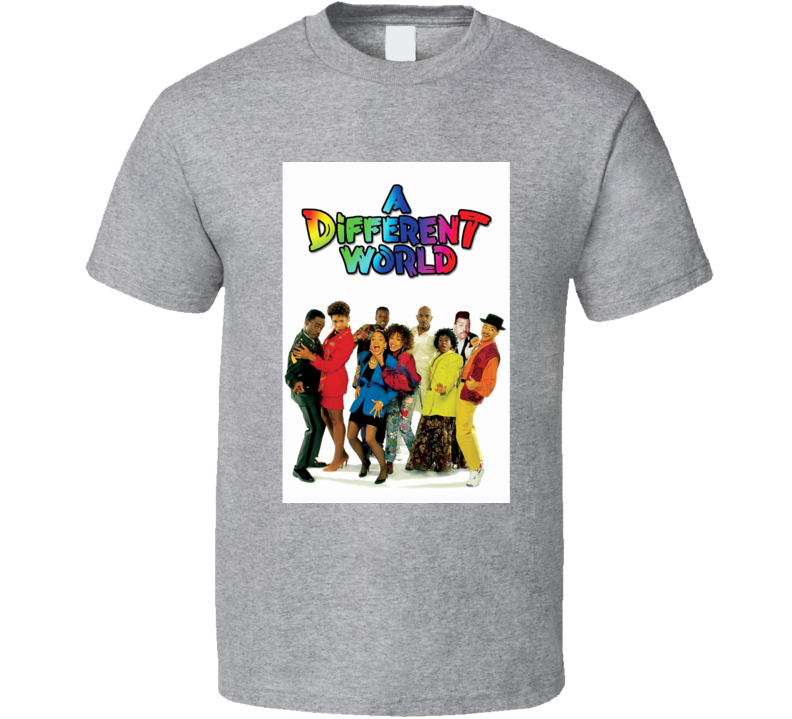 A Different World Tee 80's Vintage TV Show Cool Retro Fan T Shirt