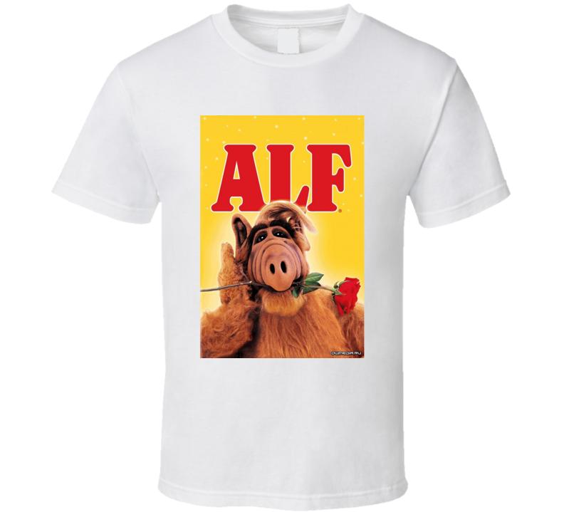 ALF Tee 80's Vintage TV Show Cool Retro Fan T Shirt