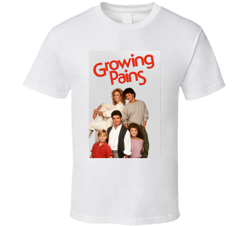 Growing Pains Tee 80's Vintage TV Show Cool Retro Fan T Shirt