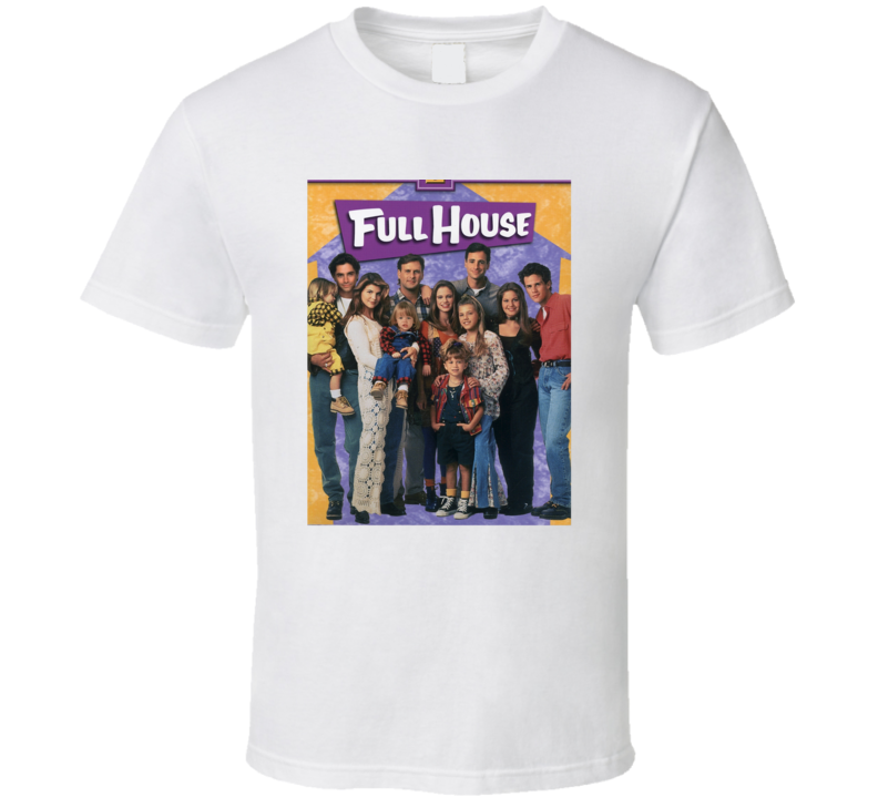 Full House Tee 80's Vintage TV Show Cool Retro Fan T Shirt