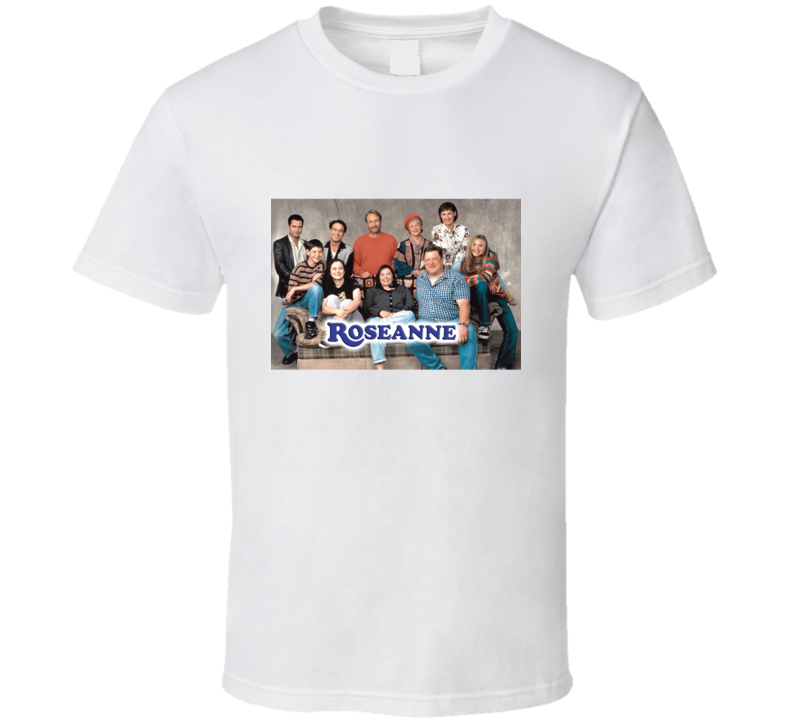 Roseanne Tee 80's Vintage Tv Show Cool Retro Fan T Shirt