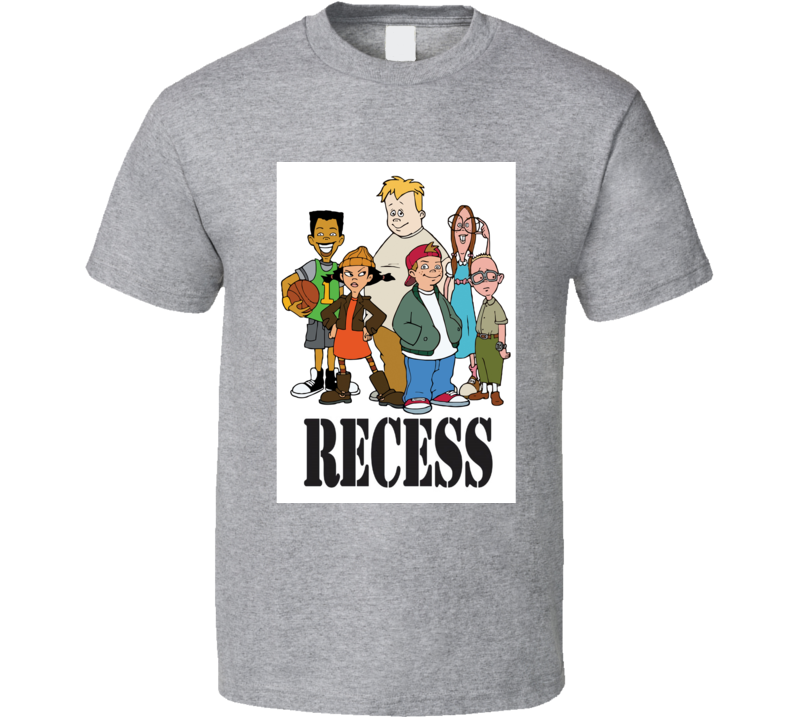 Recess Tee 90's Vintage TV Show Cool Retro Fan T Shirt