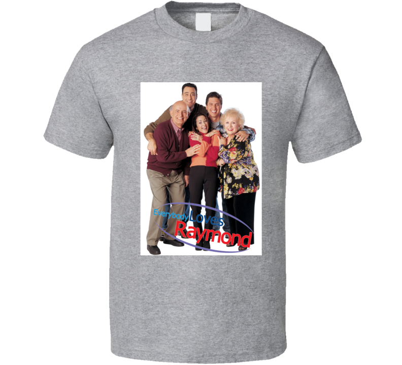 Everybody Loves Raymond Tee 90's Vintage TV Show Cool Retro Fan T Shirt