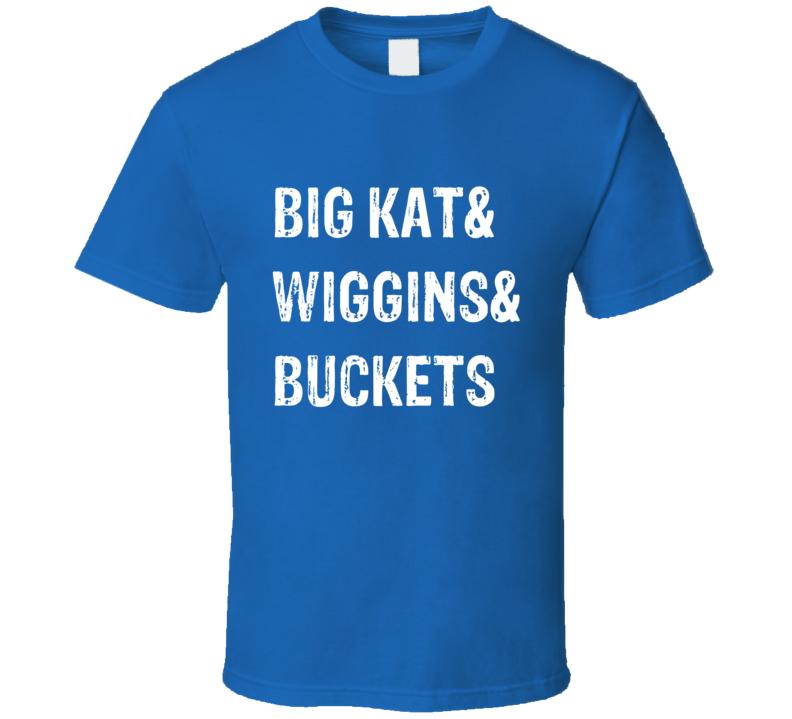 Minnesota Basketball Tee Jimmy Butler Wiggins Towns Big Kat Buckets Sports Fan T Shirt