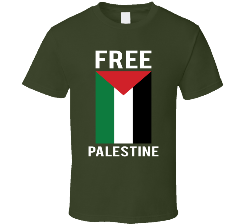 Free Palestine Tee Flag Save Gaza Protest T Shirt