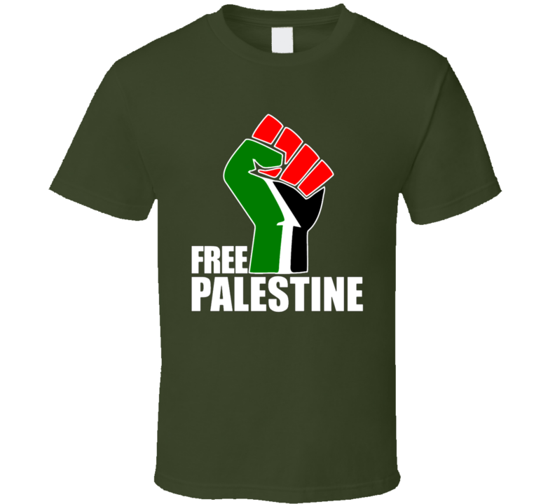 Free Palestine Tee Fist Save Gaza Protest T Shirt