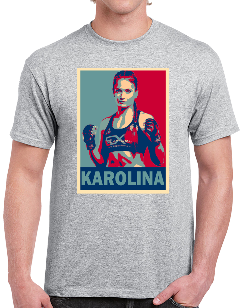 Karolina Kowalkiewicz Tee Best Pound For Pound MMA Fighter Cool Fan Hope Style T Shirt