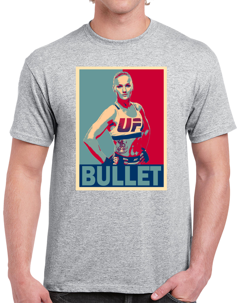 Valentina Bullet Shevchenko Tee Best Pound For Pound MMA Fighter Cool Fan Hope Style T Shirt