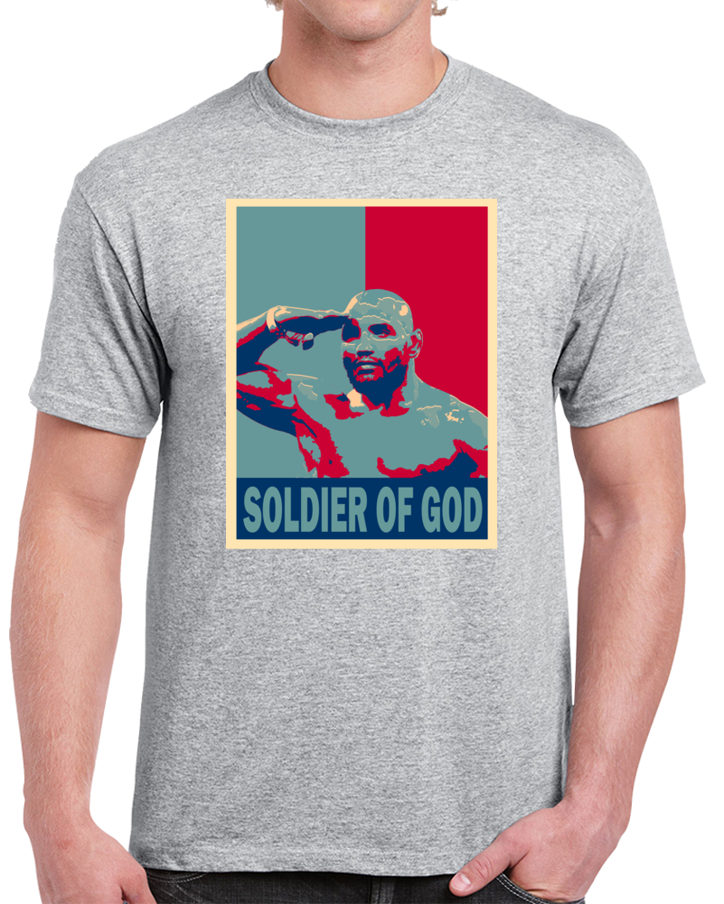 Yoel Soldier Of God Romero Tee Best Pound For Pound MMA Fighter Cool Fan Hope Style T Shirt