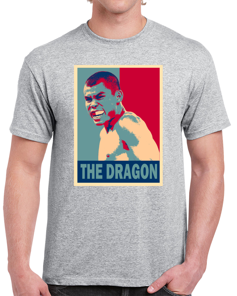 Chris The Dragon John Tee Best Pound For Pound Boxer Hope Style Boxing Fan T Shirt  Style: Classic