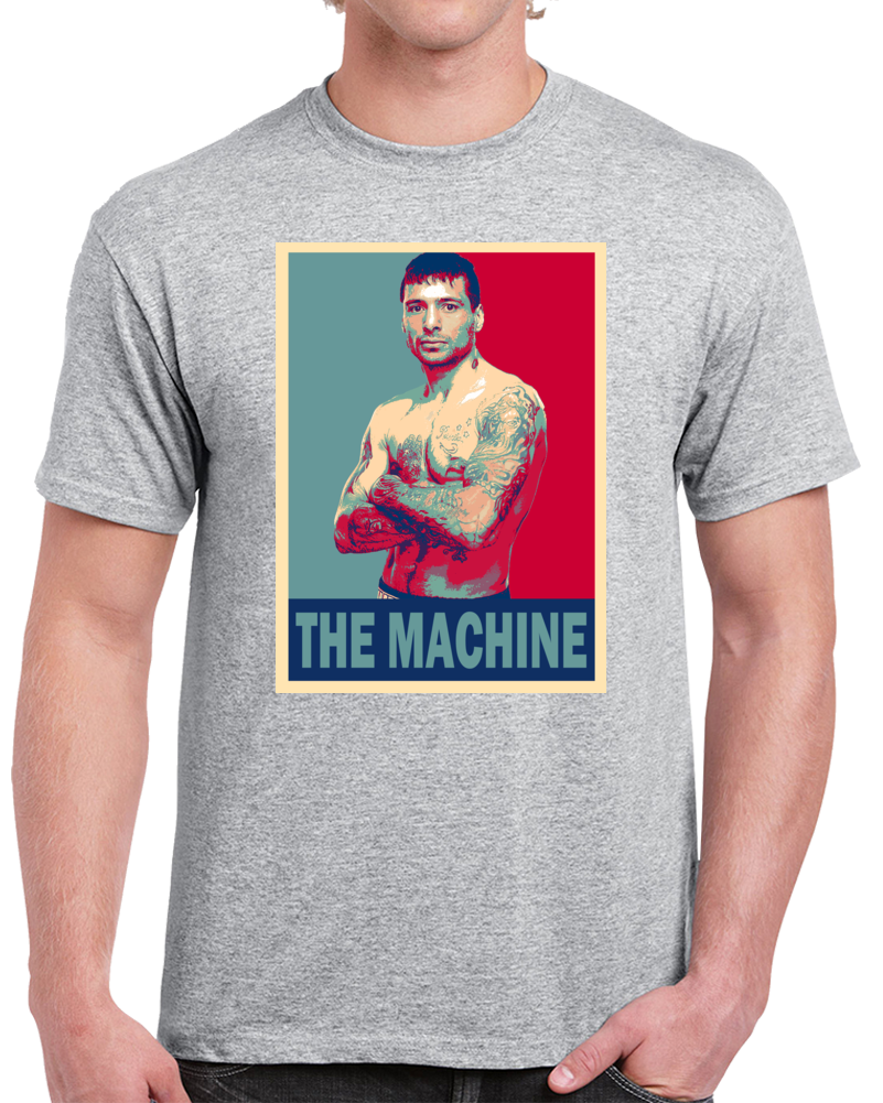 Lucas Matthysse The Machine Tee Best Pound For Pound Boxer Hope Style Boxing Fan T Shirt  Style: Classic