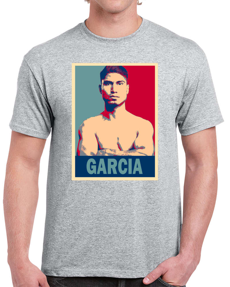 Mikey Garcia Tee Best Pound For Pound Boxer Hope Style Boxing Fan T Shirt  Style: Classic