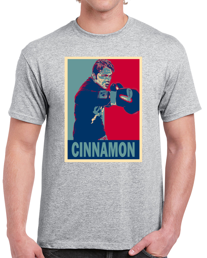 Saul Cinnamon Alvarez Tee Best Pound For Pound Boxer Hope Style Boxing Fan T Shirt  Style: Classic