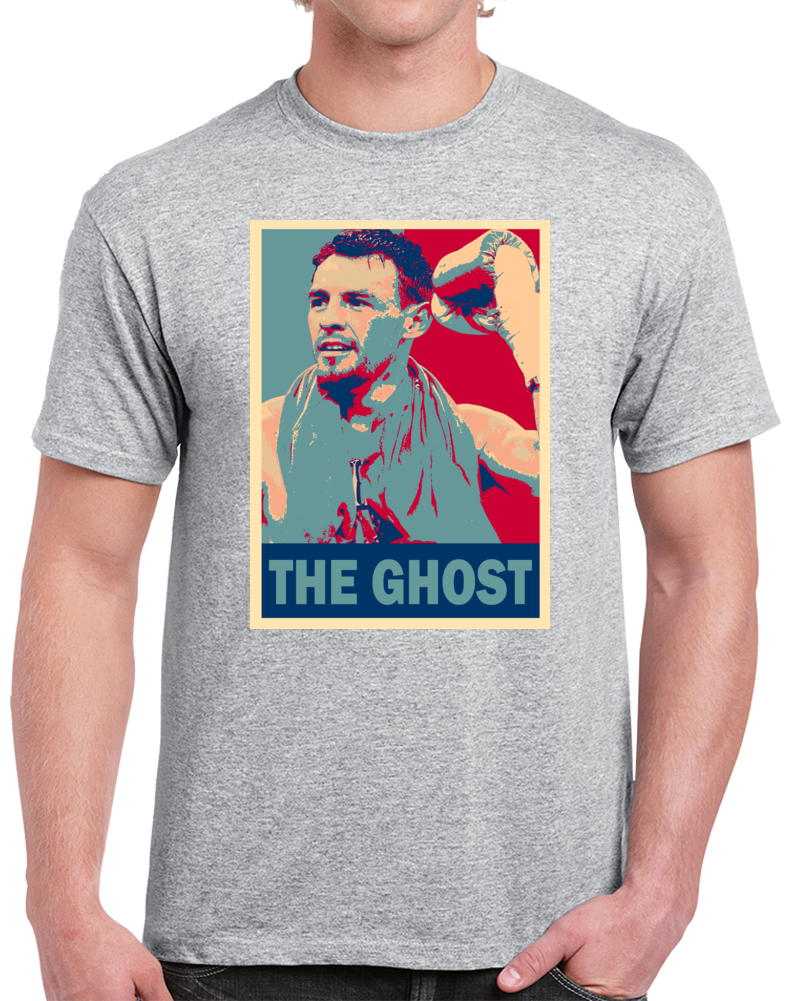Sergio Martinez The Ghost Tee Best Pound For Pound Boxer Hope Style Boxing Fan T Shirt  Style: Classic