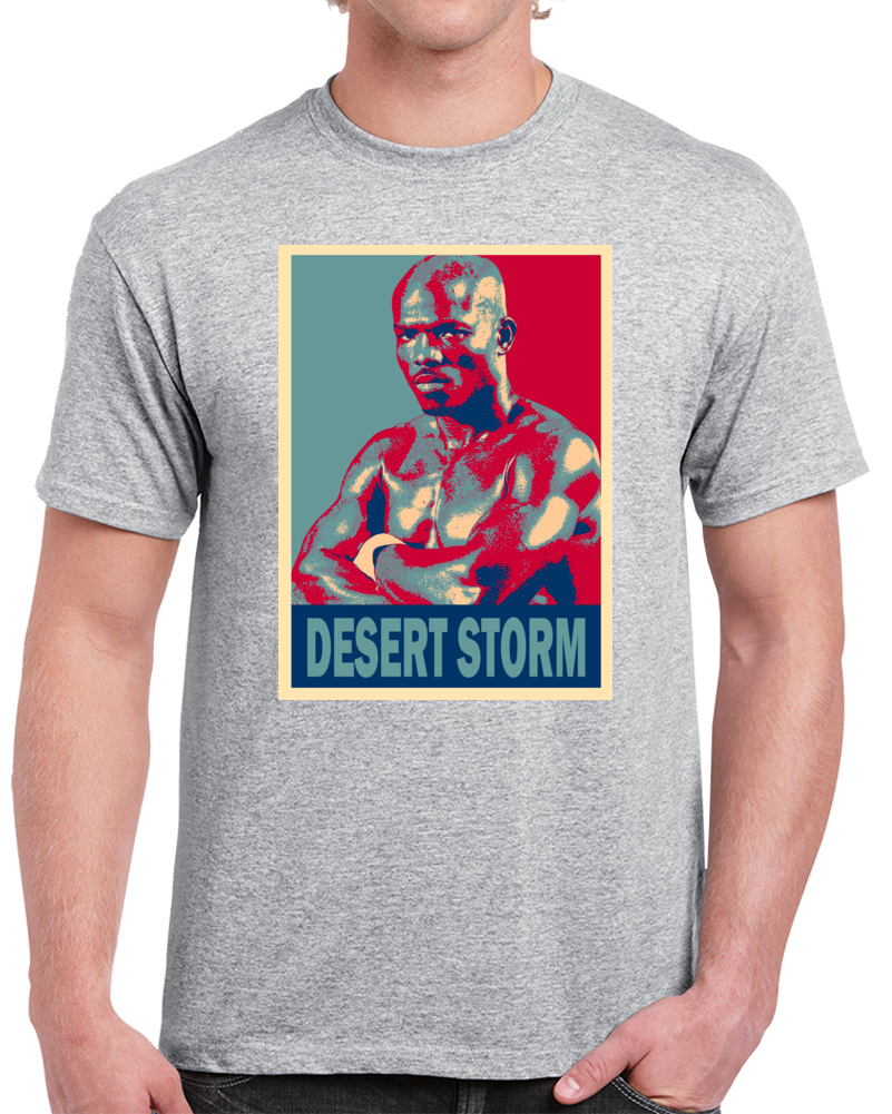 Timothy Desert Storm Bradley Tee Best Pound For Pound Boxer Hope Style Boxing Fan T Shirt  Style: Classic