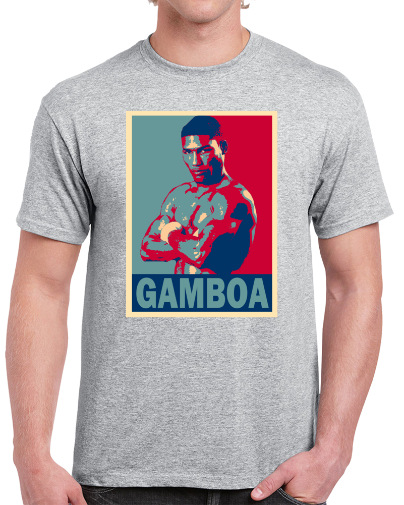 Yuriorkis The Cyclone From Guantanamo Gamboa Tee Best Pound For Pound Boxer Hope Style Boxing Fan T Shirt