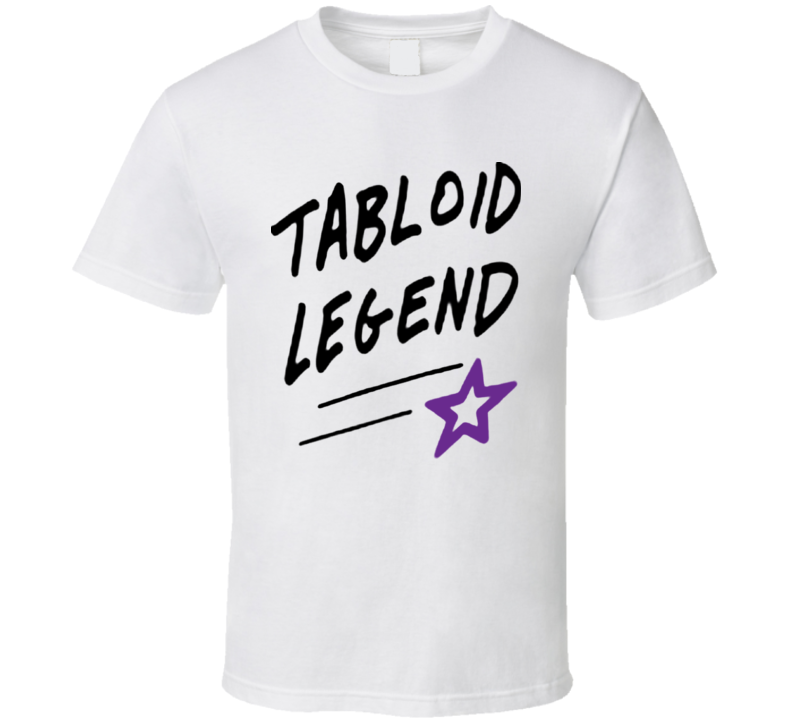Tabloid Legend Tee Kardashian Paparazzi Trendy T Shirt
