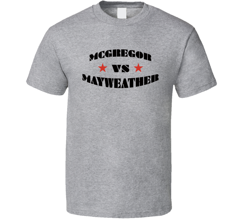 Floyd Mayweather Vs Conor Mcgregor Tee Boxing MMA Fan Fighter T Shirt