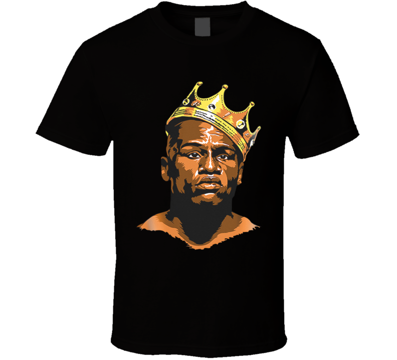 Floyd Mayweather King Of Boxing Tee Boxing Fighter Fan T Shirt