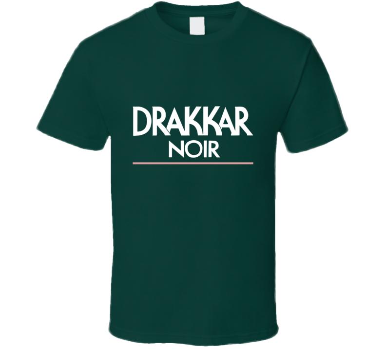 Drakkar Noir Tee Retro Men's Cologne Logo T Shirt