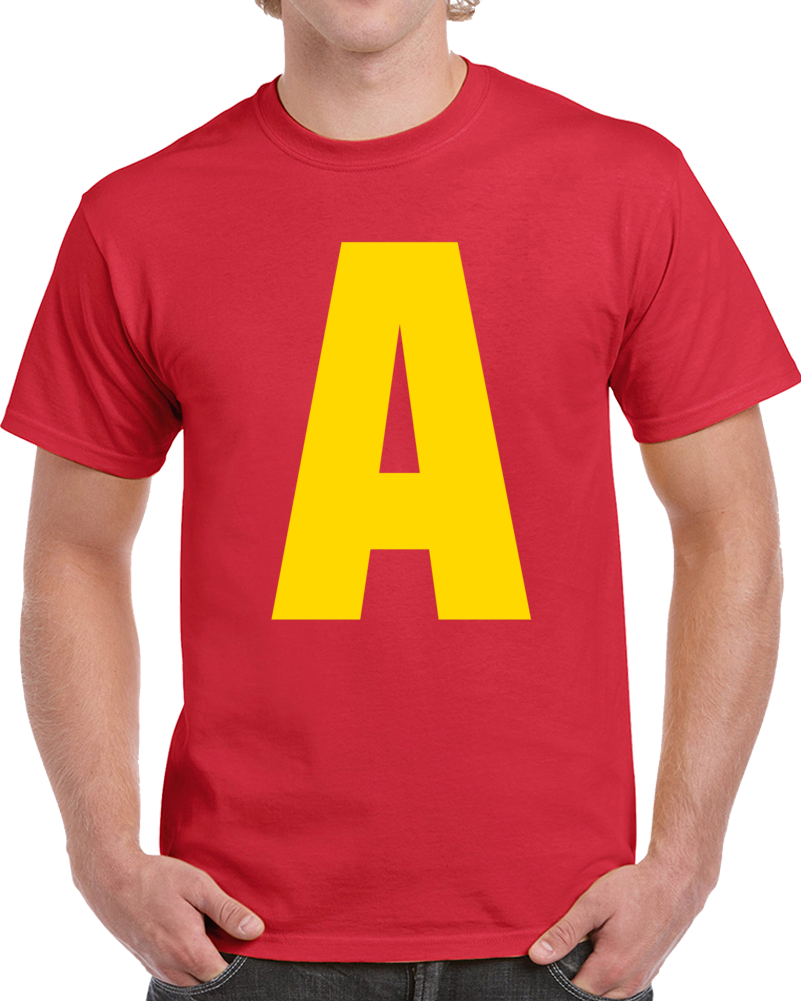 Alvin And The Chipmunks Logo Tee Funny A For Alvin Group Halloween Costume T Shirt