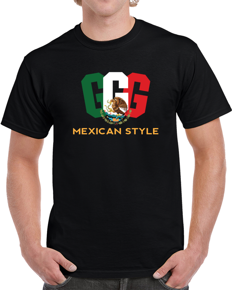 GGG Tee Gennady Golovkin Mexican Style Boxing Fan Champ T Shirt