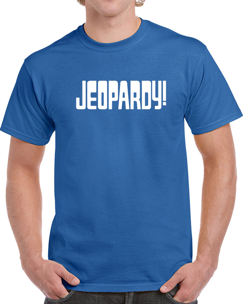 Jeopardy Tee Game Show Contestant Tv Halloween Costume T Shirt