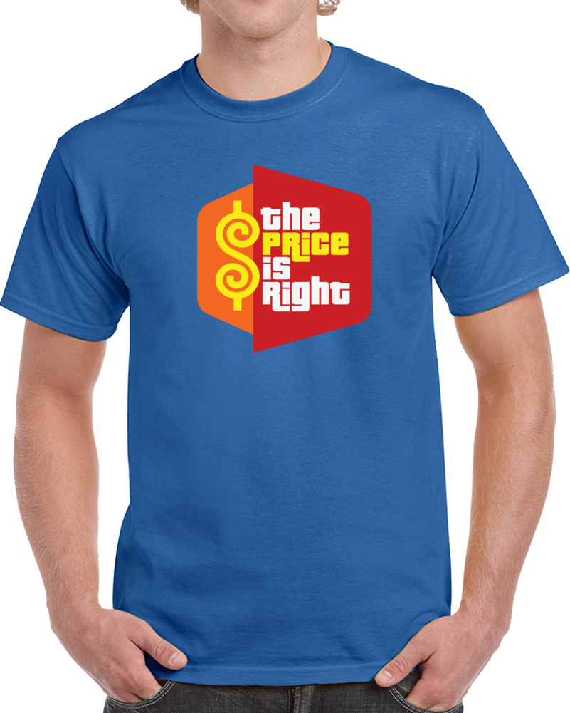 The Price Is Right Tee Game Show Contestant Tv Fan Halloween Costume T Shirt