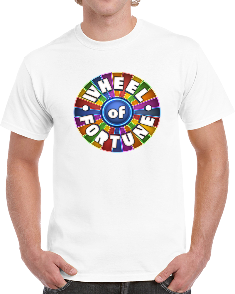 Wheel Of Fortune TV Game Show Tee Contestant Halloween Costume T Shirt