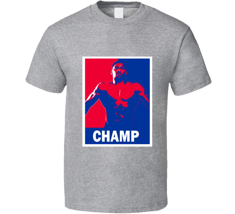 Anthony Joshua Champ Tee Obama Hope Style Patriotic Boxing Fan T Shirt