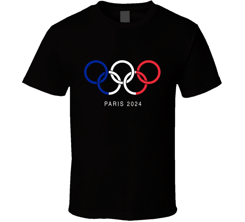 Paris 2024 Olympics Tee Trendy Patriotic T Shirt