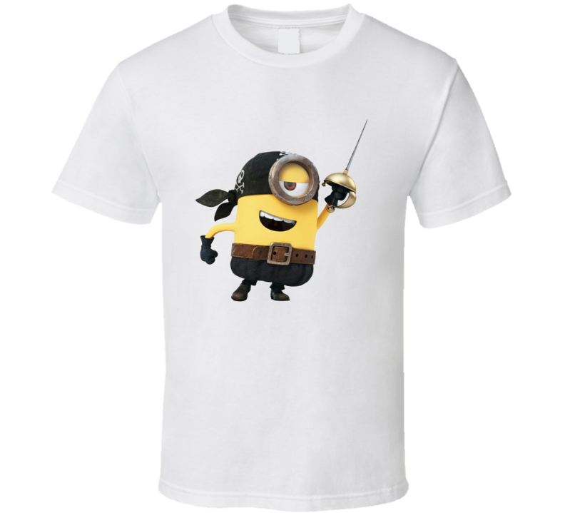 Minion Pirate Tee Funny Despicable Me Halloween T Shirt