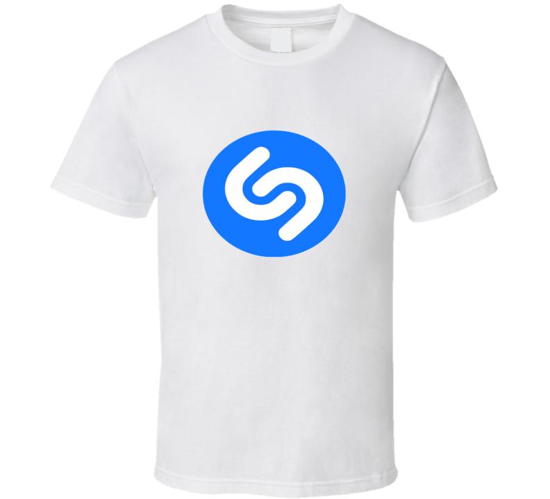 Shazam Logo Tee Trendy Music App Funny Halloween Group Team T Shirt