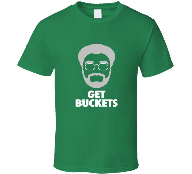 low priced 530d8 33133 Get Buckets Tee Uncle Drew Boston Basketball Kyrie Irving Funny T Shirt