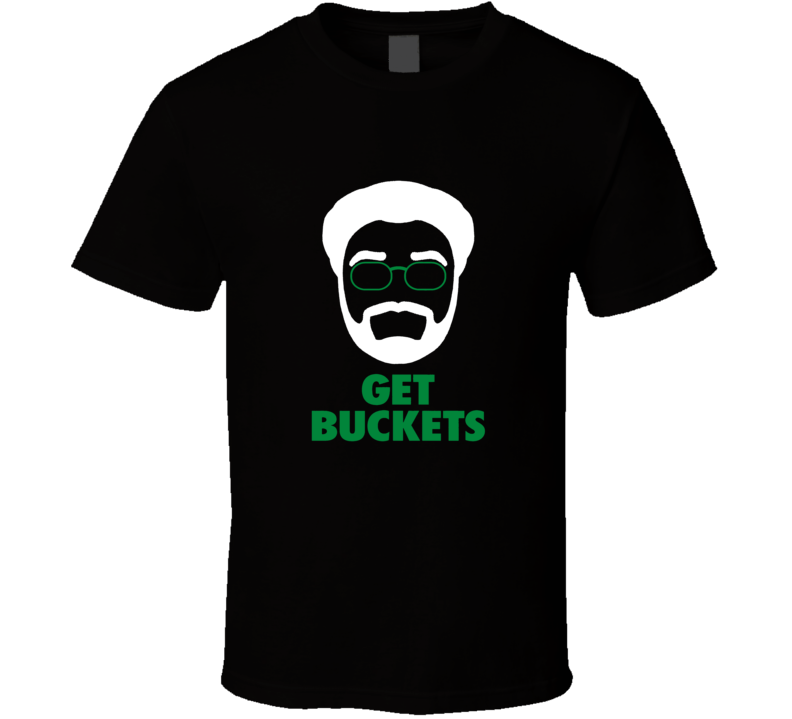 Get Buckets Tee Uncle Drew Boston Basketball Kyrie Irving Funny T Shirt
