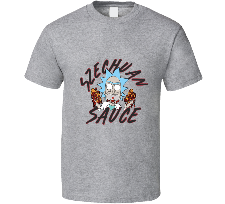 Bring Back Szechuan Sauce Tee Rick And Morty Tv Show Funny T Shirt