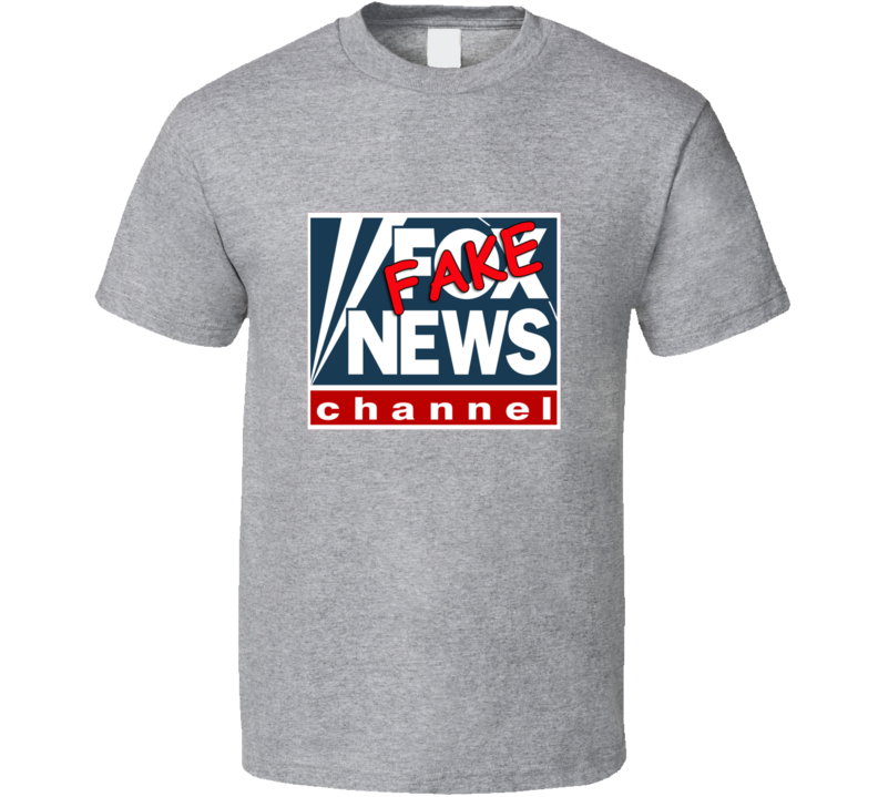 Fox News Tee Funny Fake News Channel T Shirt
