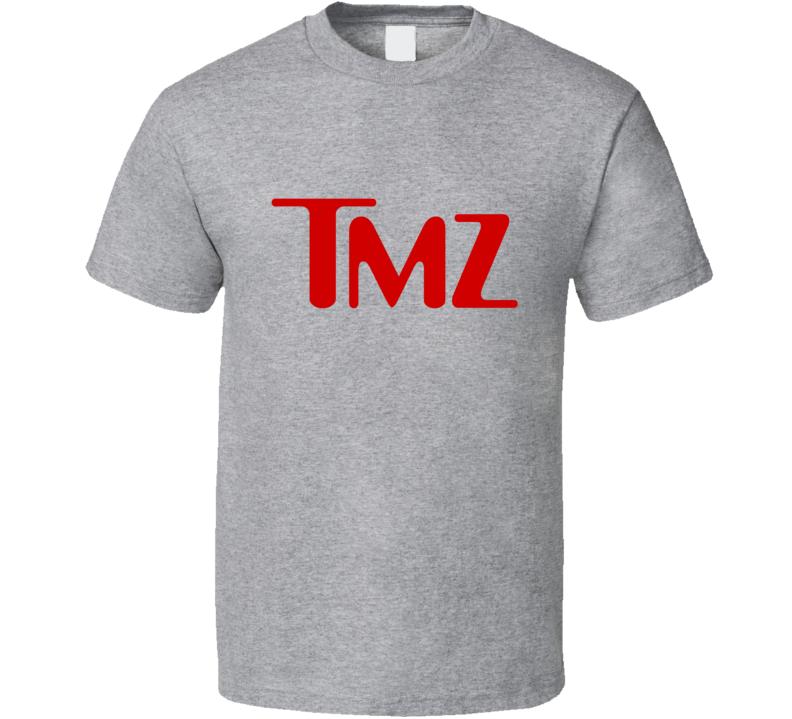 TMZ Tee Funny Gossip Celebrity News Show T Shirt