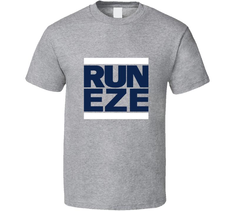 new arrivals 844b4 9befc Run Eze Tee Funny Ezekiel Elliott Dallas Football Fan T Shirt