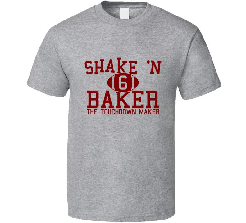 Shake N' Baker Tee Baker Mayfield Oklahoma Football T Shirt