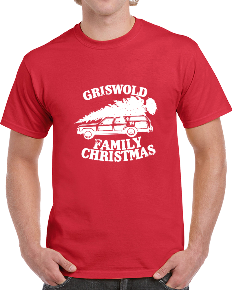 Griswold Family Christmas Tee Funny Classic Christmas Vacation Holiday T Shirt