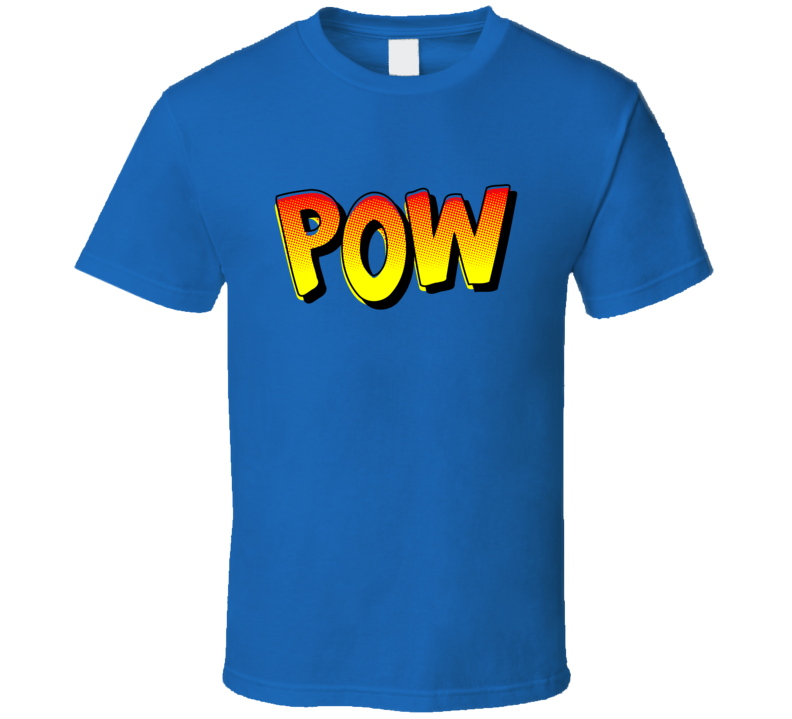 Pow Tee Funny Trendy Comic Book Fan Comics T Shirt