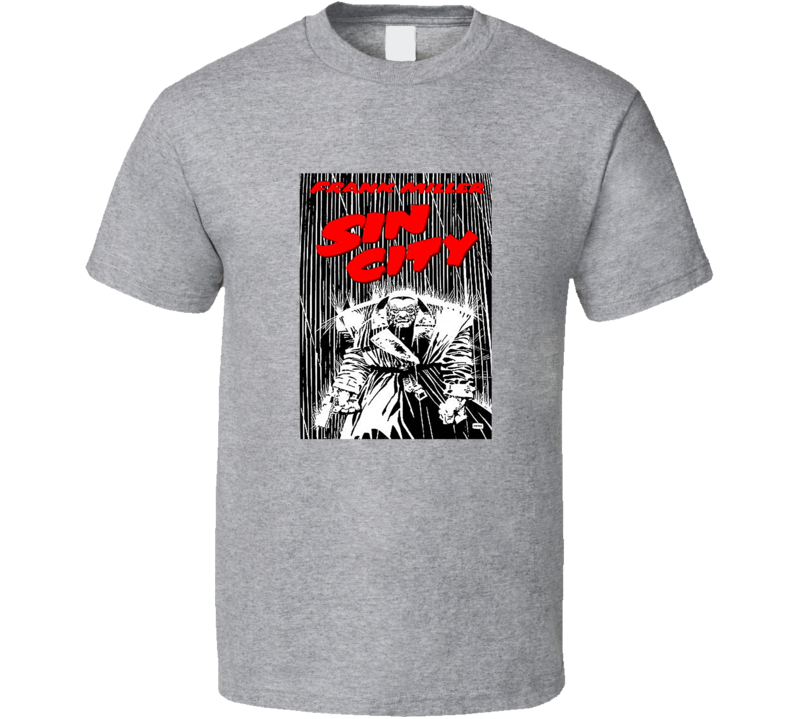 Frank Miller Sin City Tee Comic Book Lover Comics T Shirt