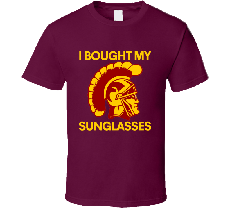 I Bought My Sunglasses Tee USC UCLA LiAngelo Ball Basketball T Shirt