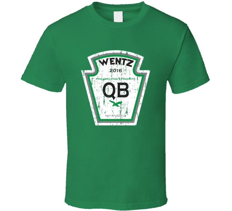 Carson Wentz Tee Cool Relish Parody Philadelphia Football T Shirt