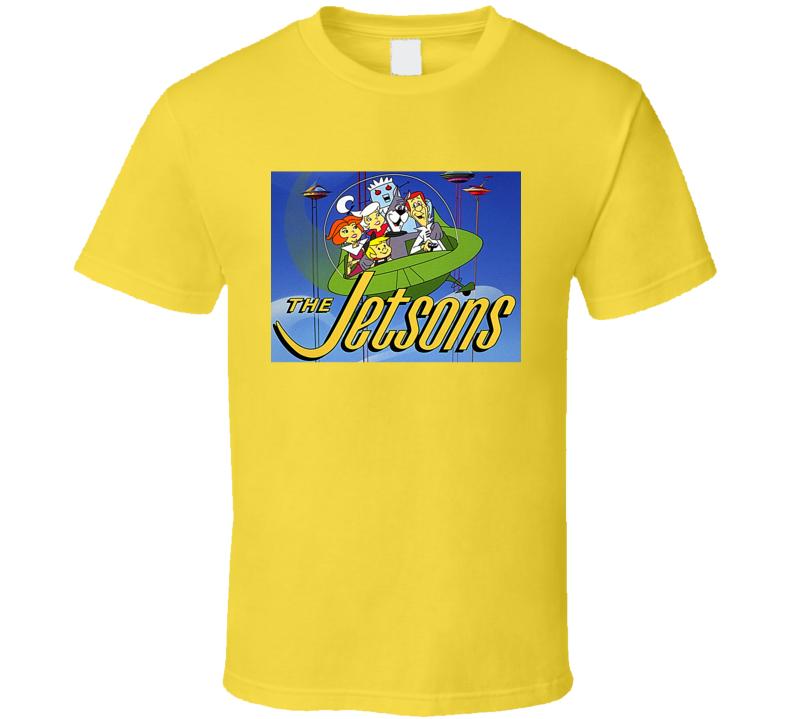 the jetsons shirt cartoon retro